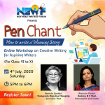 Workshops presented by NEWF's PEN CHANT