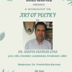 Art of Poetry by Dr. Ananya S. Guha on 5th Sept, 2020