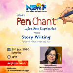 Worshop on Story Writing by Rashmi Narzary : Putting Heart into the Art